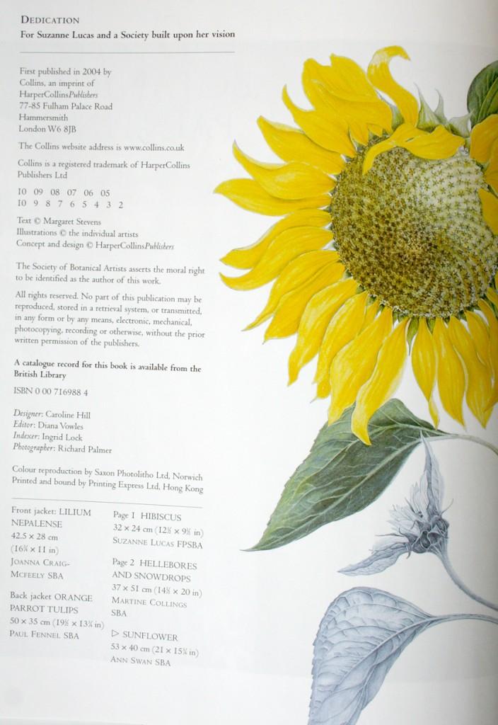 créditos del libro