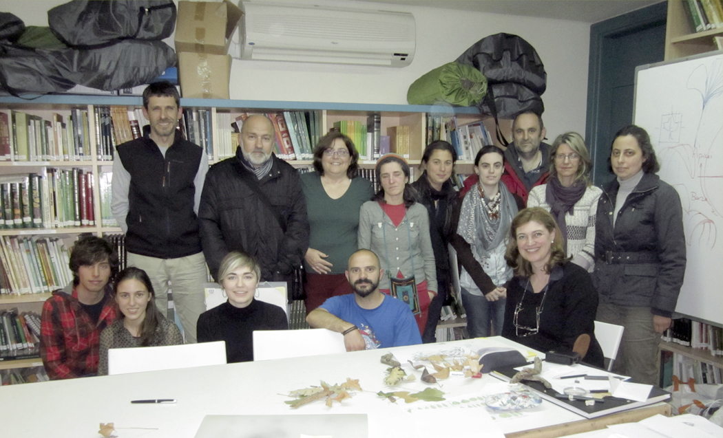 Fin del curso de dibujo bot nico en gij n bybotany arte for Jardin botanico cursos
