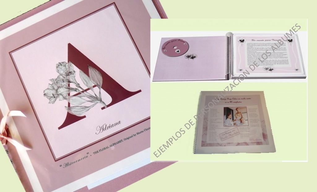 Distintas personalizaciones para los álbumes