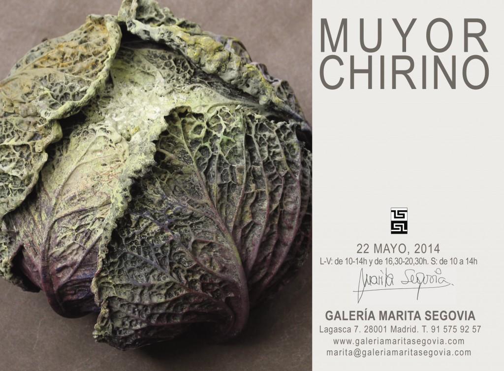 Invitación en la Galería Marita Segovia, Madrid
